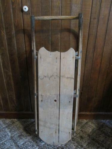 childs wooden rocking chair folding tent antique sled | ebay
