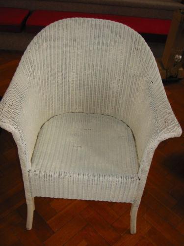 vintage bedroom chair ebay office kijiji lloyd loom wicker  