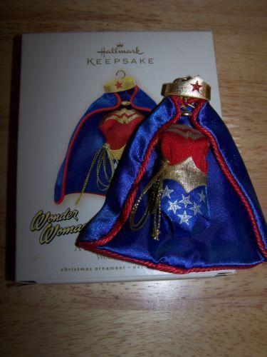 Hallmark Wonder Woman Ornament EBay