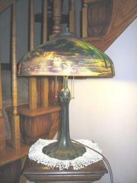 Reverse Painted Lamp | eBay