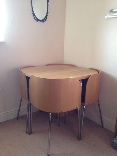 kitchen table with 4 chairs tweezers ikea fusion tables | ebay