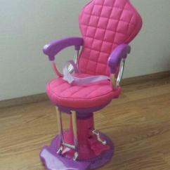 Pink Salon Chairs Wrought Iron High Top Table And Doll Chair | Ebay