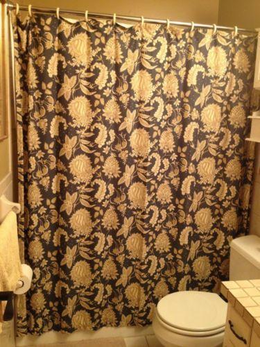 Pottery Barn Shower Curtain  eBay