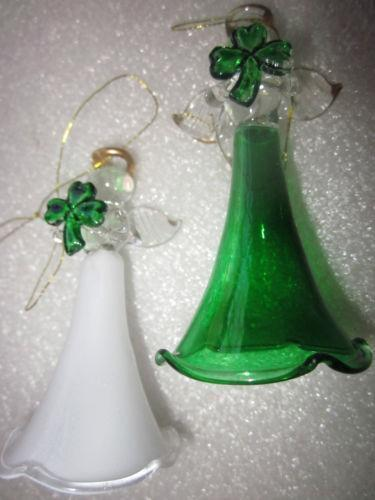 Spun Glass Christmas Ornaments EBay