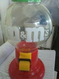 Vintage M&M Dispenser