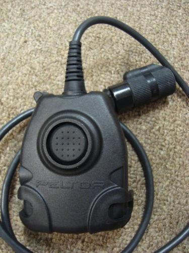 Headset Connector Wiring Peltor Ptt Personal Field Gear Ebay