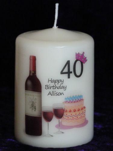 Personalised Christmas Candles EBay