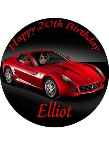 Sports Car Cake Toppers  eBay