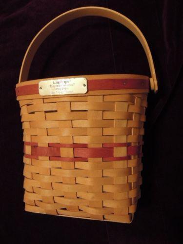 1998 Longaberger Christmas Basket EBay