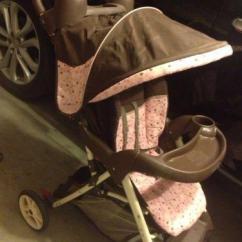 Toddler High Chair Seat Cream Slipper Used Graco Baby Stroller | Ebay