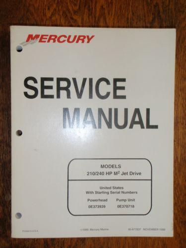 Diagram Of 240 Efi M2 Jet Drive Powerhead Mercury Sport Jet 0e384500