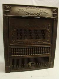 Antique Gas Fireplace Insert | eBay