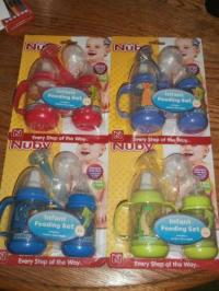 Sassy Baby Feeder. Podee Twin Pack Hands Free Baby Bottle ...