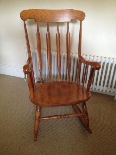 nursing glider or rocking chair papa san   ebay