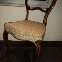 Antique Chairs Ebay Crushed Velvet Chair Covers Uk Victorian Upholstered |