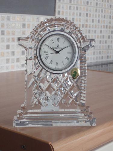 Waterford Crystal Clock  eBay
