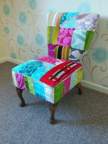 Patchwork Chair  eBay