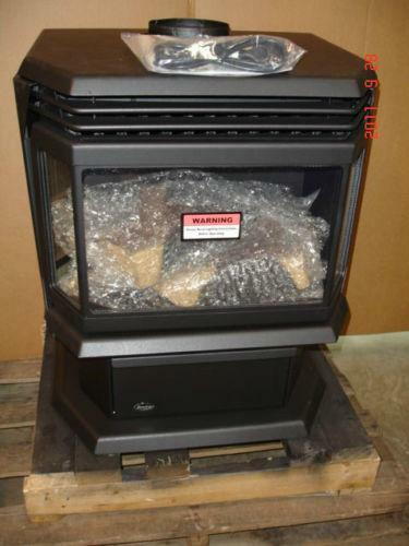 Free Standing Gas Fireplace  eBay