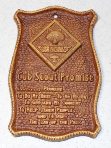 Boy Scout Plaque Ebay