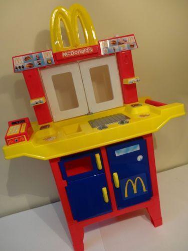 walmart play kitchen sets rolling island mcdonalds drive thru | ebay