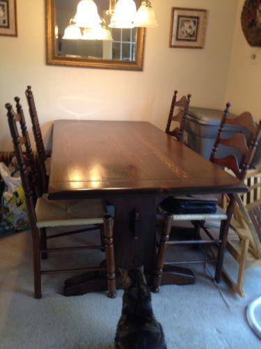 Ethan Allen Dining Table  eBay
