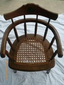 antique wood chair how to make covers for a party ebay child s