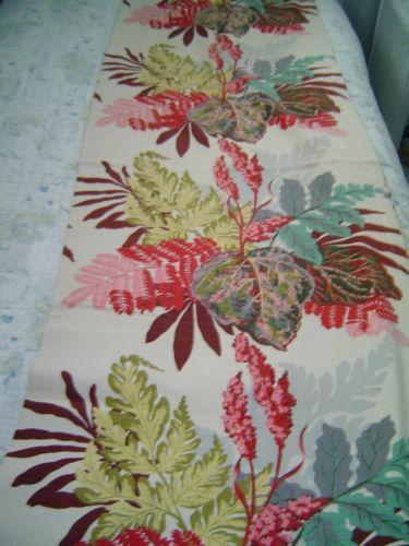 Vintage Tropical Barkcloth Linens Amp Textiles 1930 Now