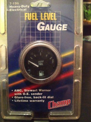 Vintage Stewart Warner Tachometer 6k Electric 3wire Hook Up Made In