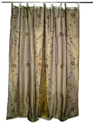 Sheer Embroidered Panel Curtains Drapes Amp Valances EBay