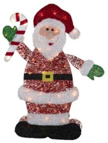 Santa Claus Outdoor Decorations  Ebay