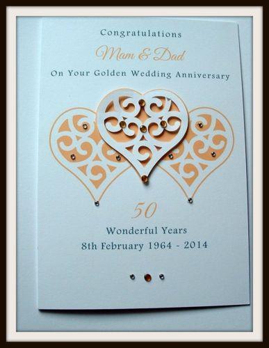 Handmade Anniversary Cards EBay