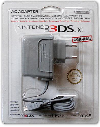 Ladekabel Original Nintendo 3DS 2DS DSi XL Netzteil AC Power Adapter Neuware