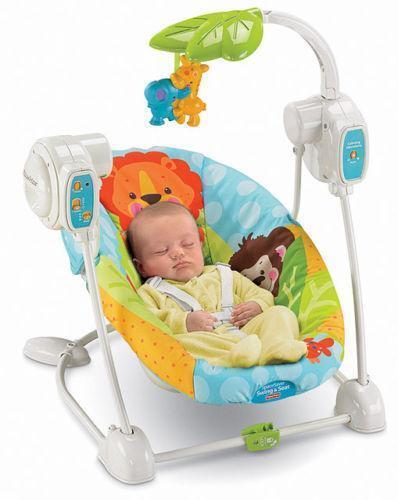 Fisher Price Baby Swing Chair  Ebay
