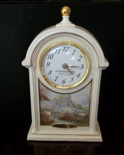 Thomas Kinkade Clock EBay