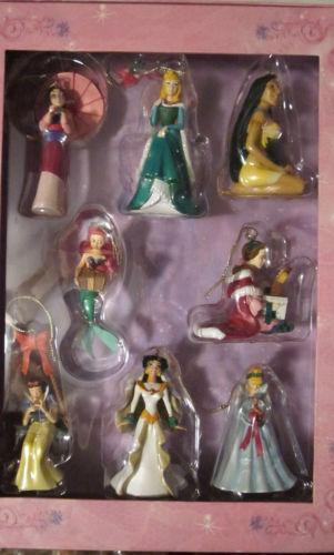 Disney Princess Ornament Set EBay