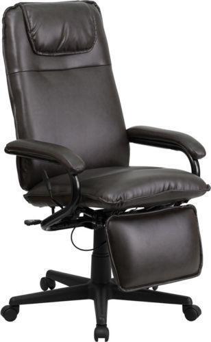 desk chair recliner ikea kids chairs reclining office ebay