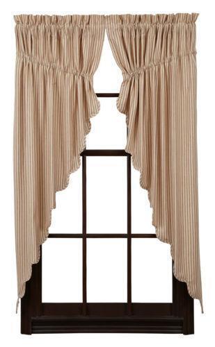 Ticking Stripe Curtains EBay