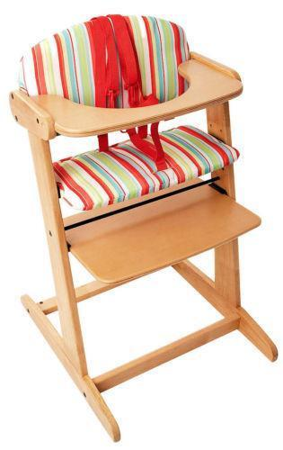 stokke high chair eames and ottoman replica wooden chairs | baby feeding ebay