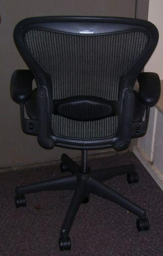 aeron chair drafting stool for two year old herman miller used | ebay