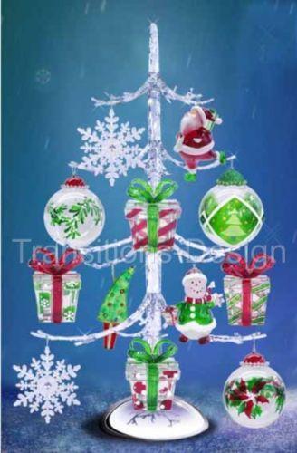 Acrylic Christmas Tree EBay