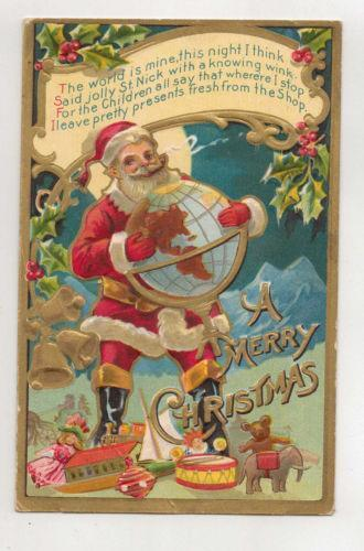 Vintage German Christmas Card EBay