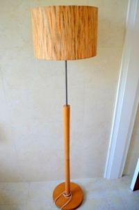 Wooden Floor Lamp Stand | eBay