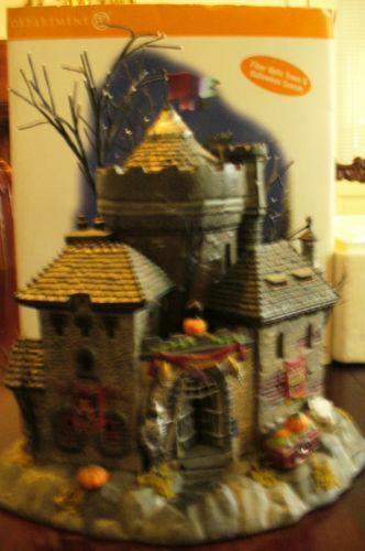 Department 56 Halloween Castle  eBay