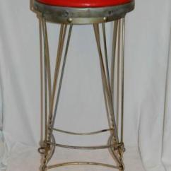 Best Drafting Chairs Swing Chair Steel Vintage Ice Cream Parlor Stool | Ebay