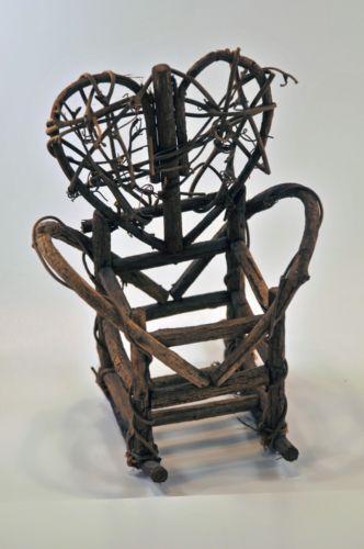 Antique Wooden Rocking Chair  eBay