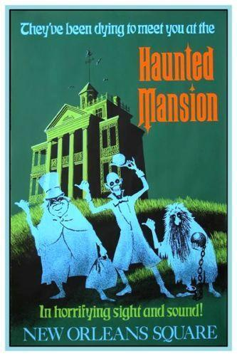 Image result for haunted mansion poster