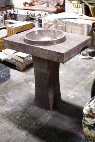 Marble Pedestal Sink