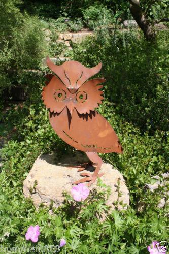 Edelrost Tiere Gartenfiguren & Skulpturen  Ebay