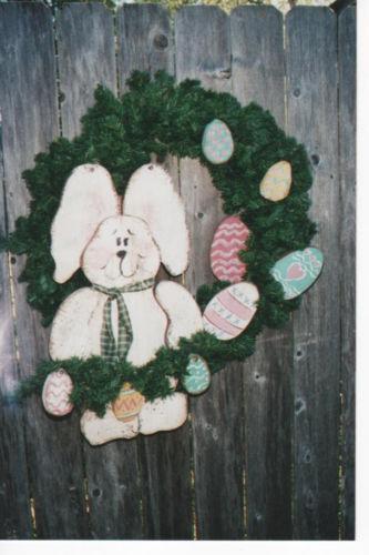 Wooden Wreath EBay