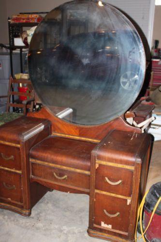 Antique Vanity Table  eBay